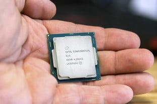 Quy mô bàn tay thế hệ thứ 8 của Intel Core i7