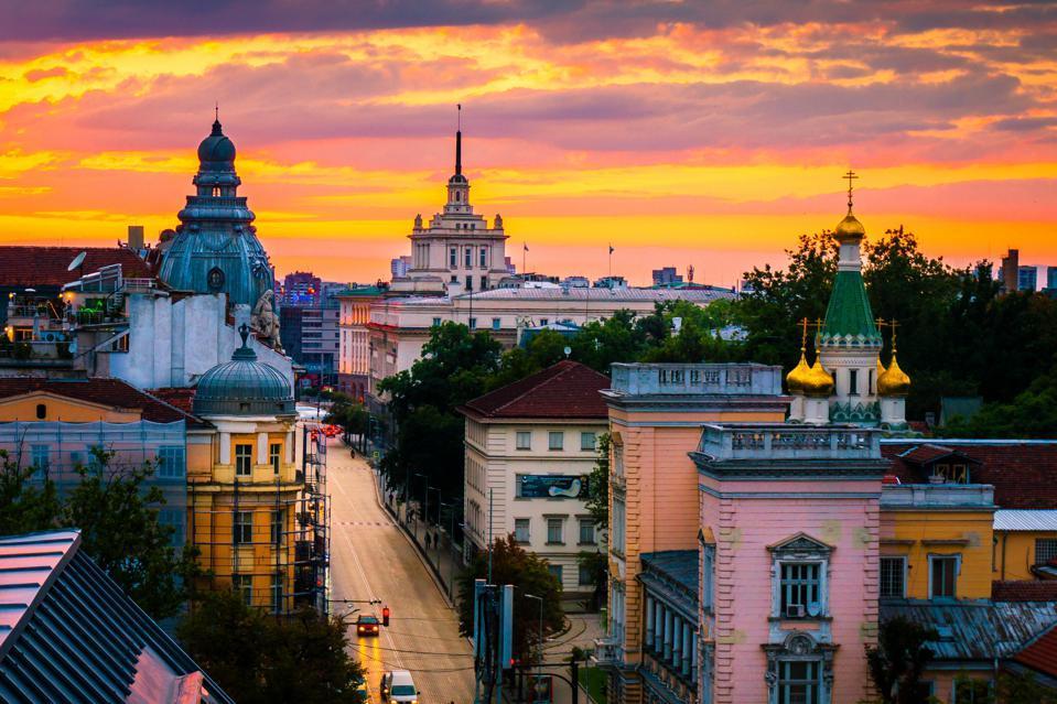 Sofia, the capital of Bulgaria.