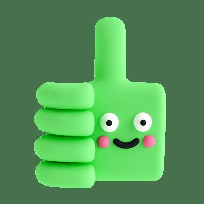 Thumbs Up Handy