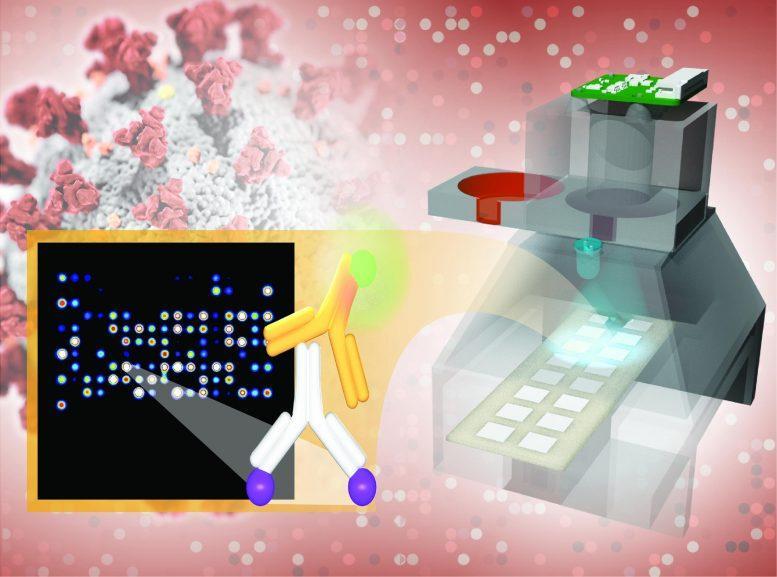 TinyArray Imager Antibody Testing